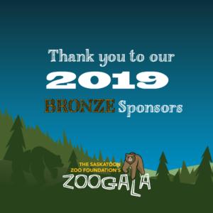 2019 ZOOGALA BRONZE Sponsors